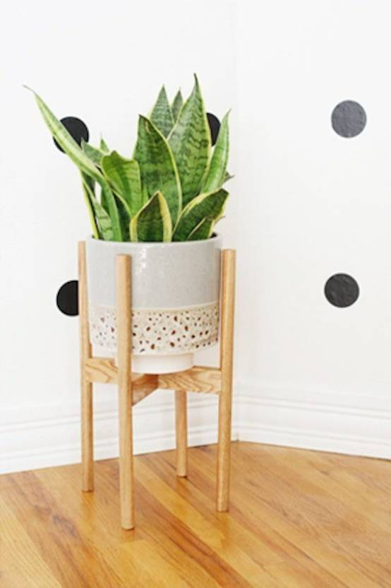 Ad Planet Shape Plant Stand Container