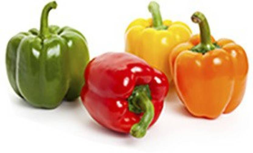 natural live Capsicum yellow orange Green red color seed each 20 seed Seed