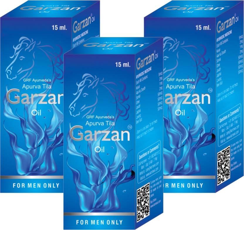 Grf Ayurveda Garzan Penis Enlargement Oil Pleasure Enhancement