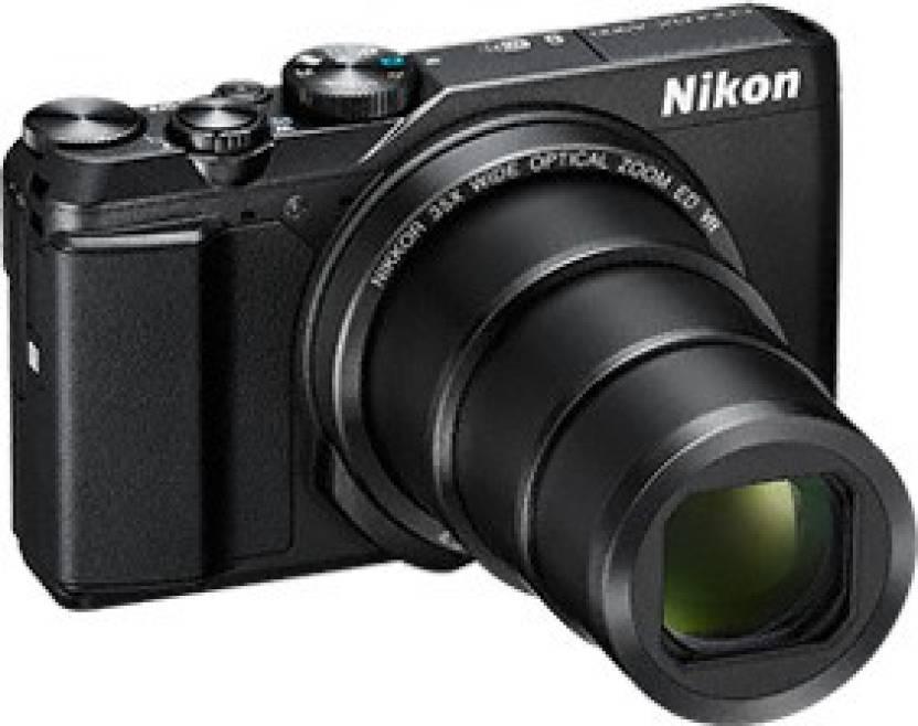 Nikon A900 Point and Shoot Camera  (Black 20 MP)
