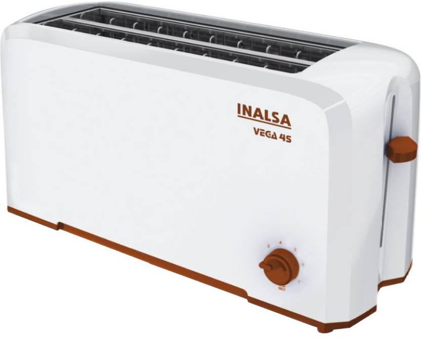 Inalsa Vega 4S 1100 W Pop Up Toaster