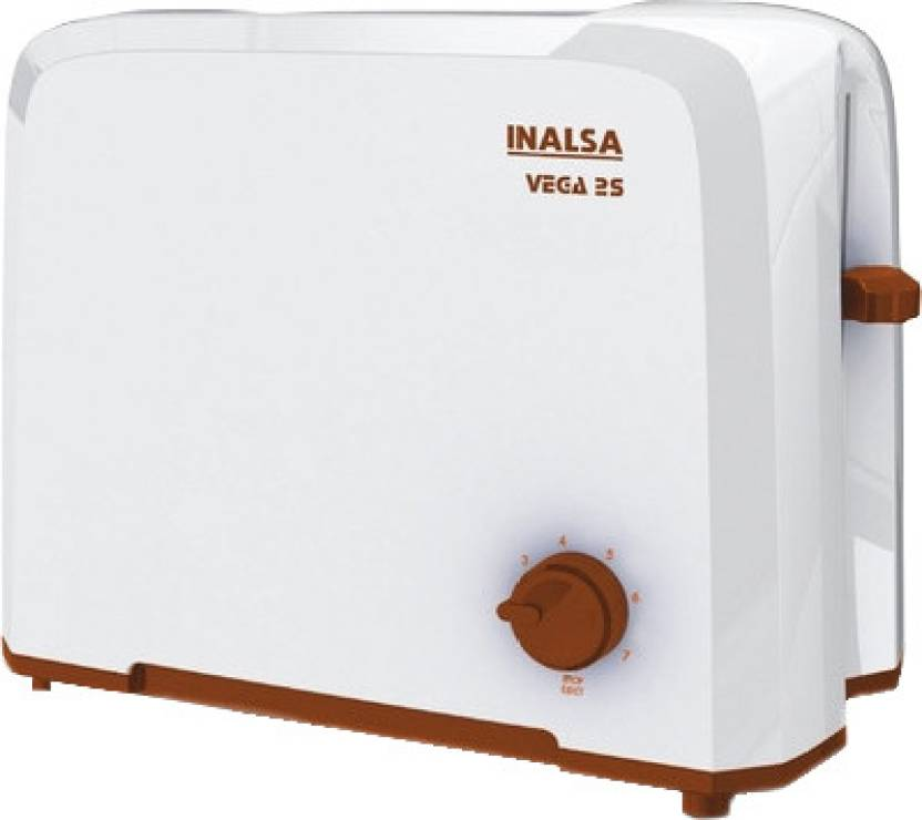 Inalsa Vega 2S 750 W Pop Up Toaster