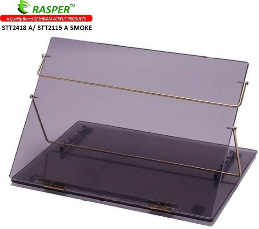 Rasper Acrylic Table Top Desk Elevator Standard Size 21x15 Inches Writing