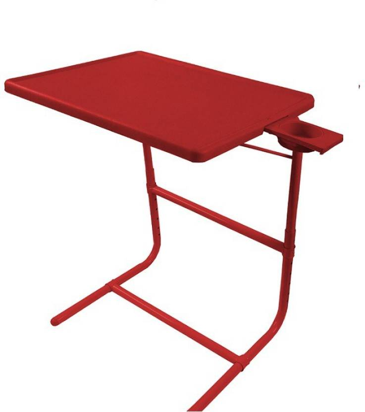 Table Mate Ii Platinum Double Foot Rest Adjule Folding Kids Home Office Study Red With