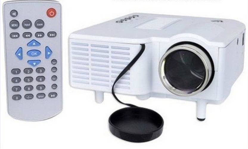 Unic mini led projector with vga uc28 48 lm led corded for Handheld projector price