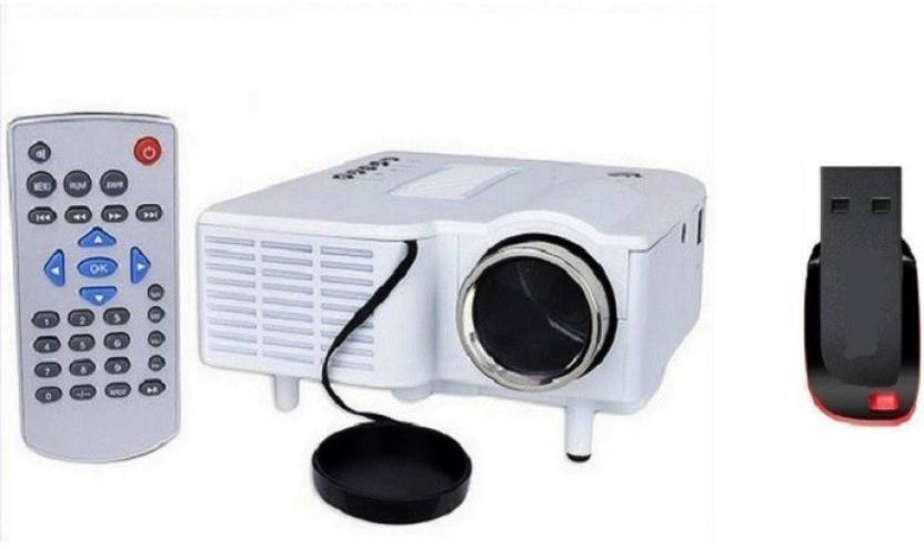 UNIC Unic 28+ LED Projector with 8 GB pendrive 48 lm LED Corded Portable Projector