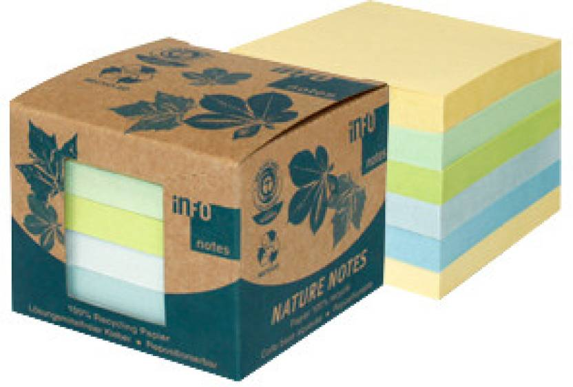 Info Nature 100 Sheets Post-its Sticky Note