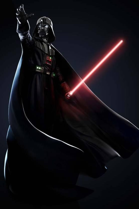 Darth Vader Star Wars Villain Hollywood S P755 By Spoilt Paper Print