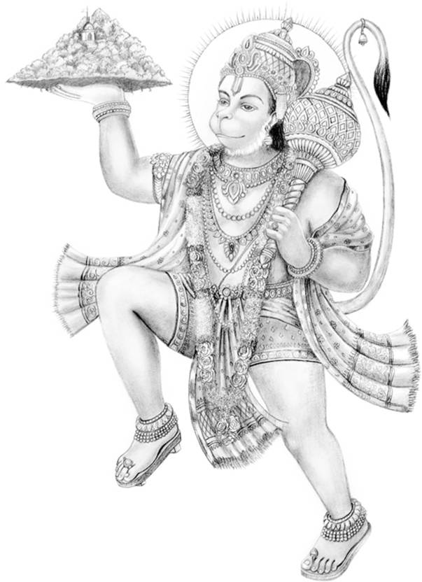 bajrang bali fine art print religious posters in india buy art