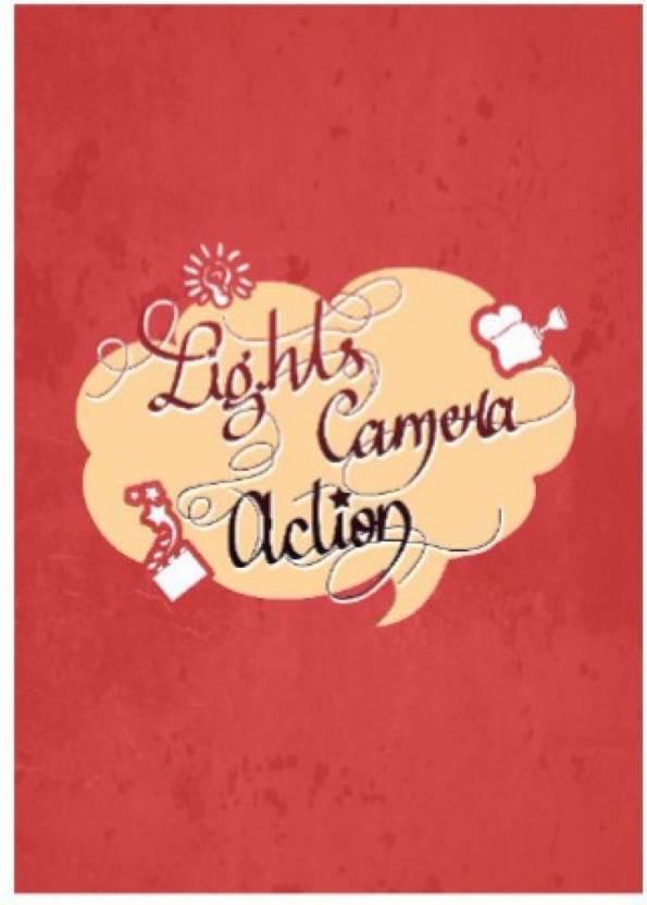 Athah Poster Lights Camera Action Pushkar Priyadarshi Paper Print