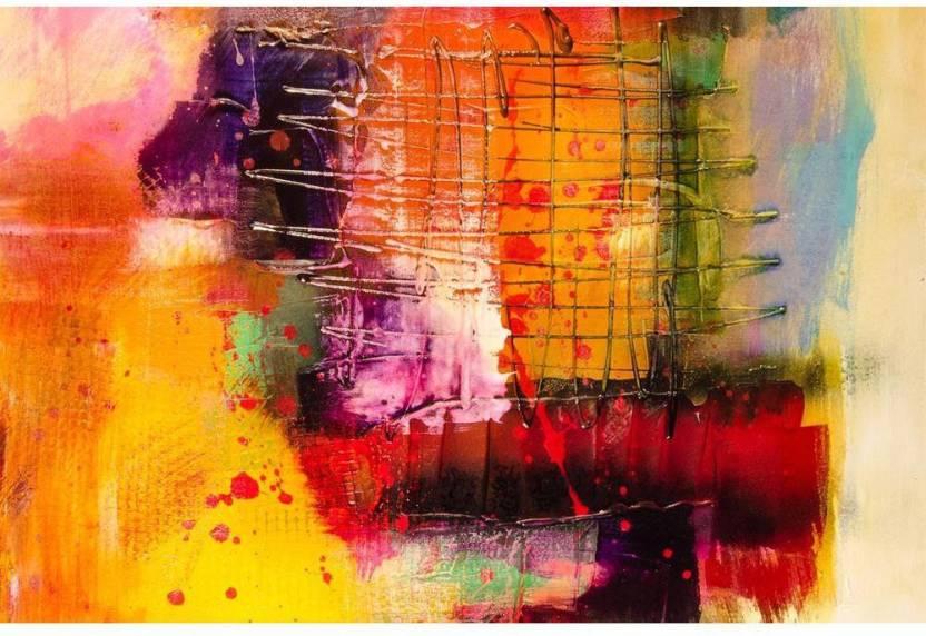 Modern Abstract Art Premium Poster Paper Print Artzfolio