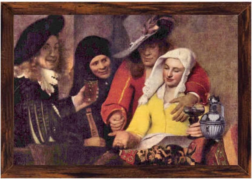 Kupplerin (Code Vr4161) Canvas Art (11.6 inch X 16.6 inch)