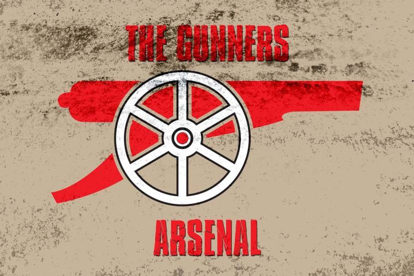 The Gunners Arsenal Photographic Paper - Sports posters in India ... 35b603f575