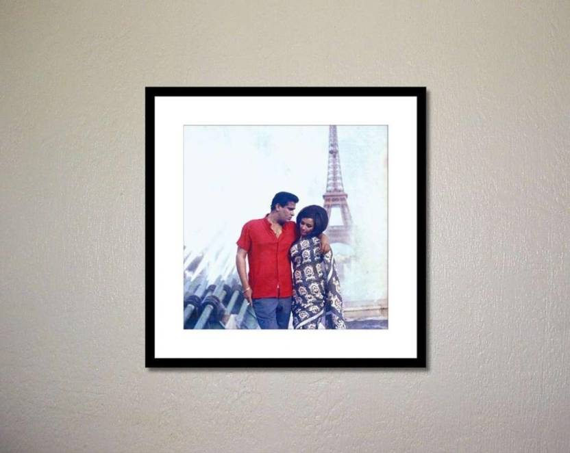 Athah Poster Shammi Kapoor and Sharmila Tagore in Evening in Paris Photographic Paper Paper Print