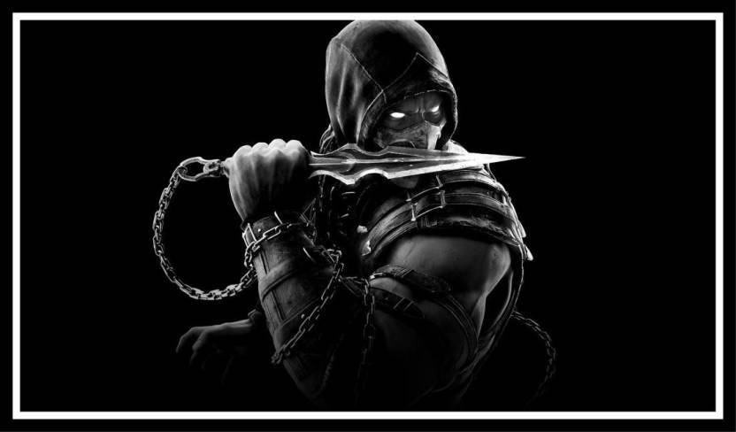 EurekaDesigns Poster Mortal Kombat Video Game Laminated Paper Print