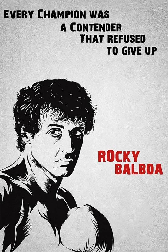 Motivational Quote Rocky Balboa Sad Quotes