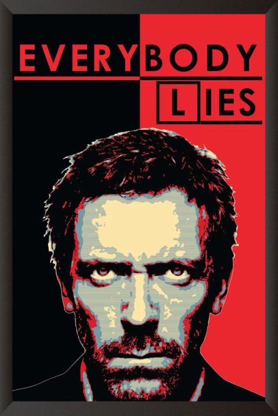 Everybody Lies Paper Print