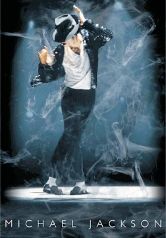 Michael Jackson Music 3D Poster