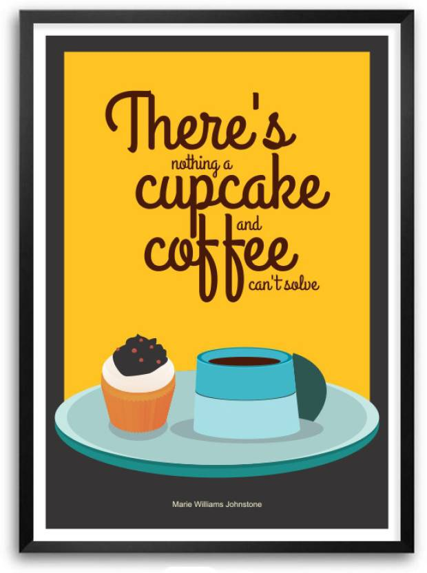 Marie Williams Johnstone Coffee And Cake Shop Quotes Wall Decor ...