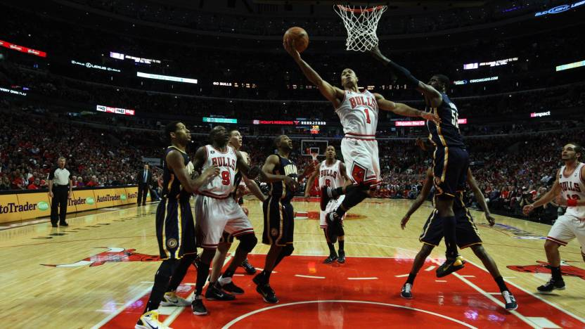 Sports Chicago Bulls Basketball HD Wall Poster Paper Print