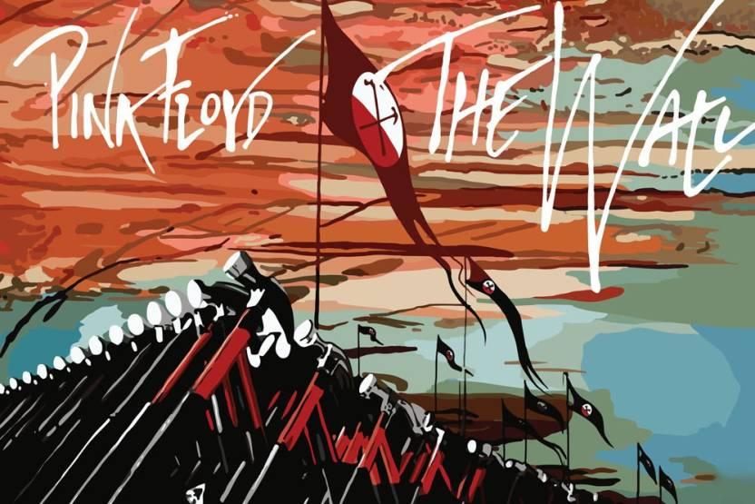 Posterskart Pink Floyd The Division Bell Album Art Poster Paper