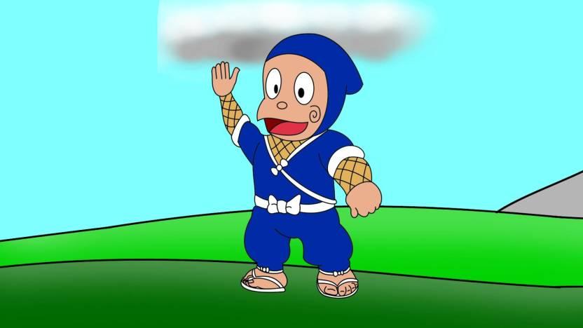 ninja hattori cartoon poster paper print animation cartoons