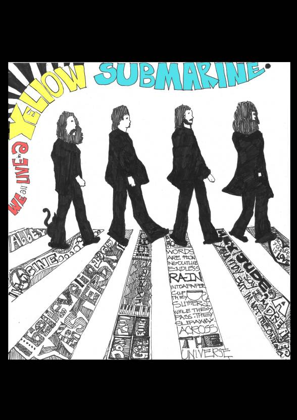 The Beatles Poster Paper Print