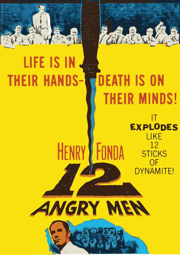 Posterskart 12 Angry Men Poster Paper Print Movies Posters
