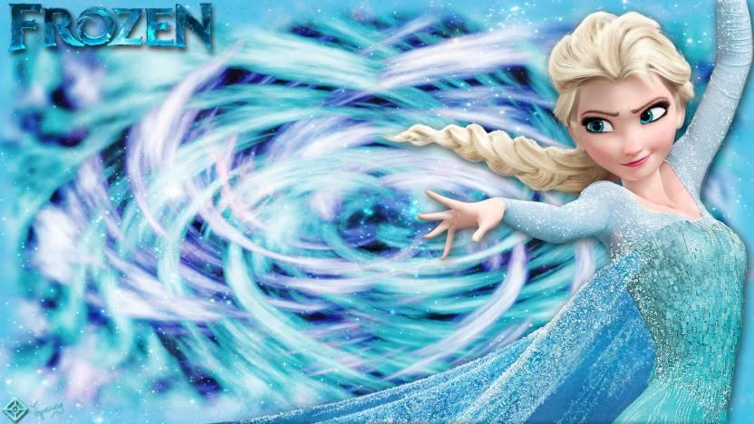 Movie Frozen Elsa HD Wallpaper Background Paper Print