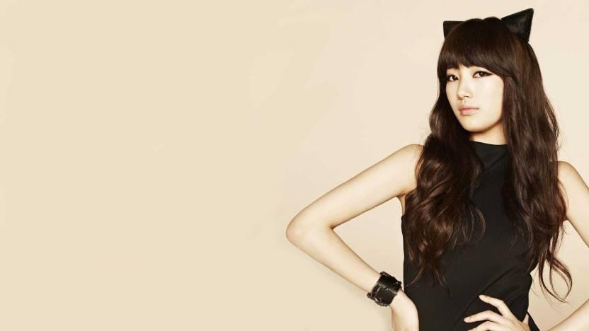 Music Bae Suzy Singers South Korea Korean HD Wallpaper Background Fine Art Print