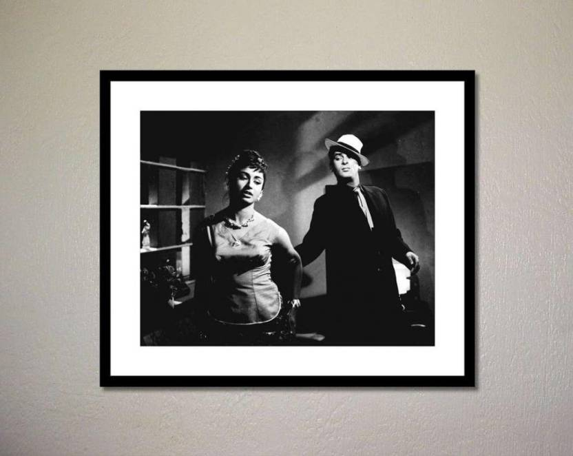 Athah Poster Shammi Kapoor and Helen in China Town Photographic Paper Paper Print
