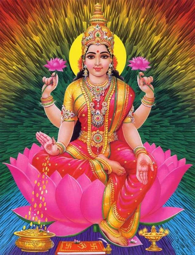Jai Laxmi Maa Fine Art Print Religious Posters In India Buy Art