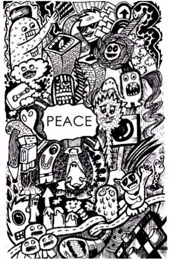 Peace Wall Art | Artist bhaumik Photographic Paper - Comics posters ...