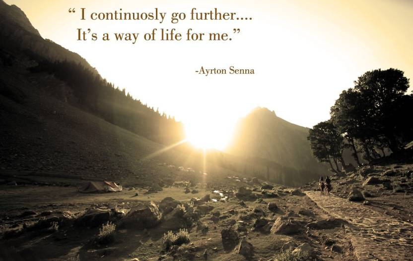 Motivational Quote By Ayrton Senna Photographic Paper Ali
