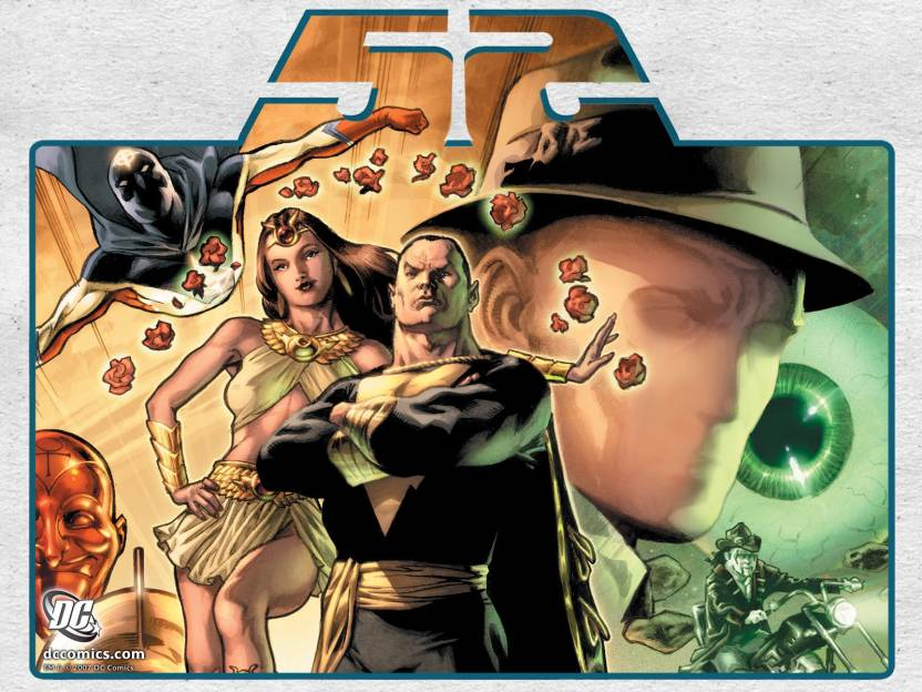 The New 52 Comic Shazam DC HD Wall Poster Paper Print