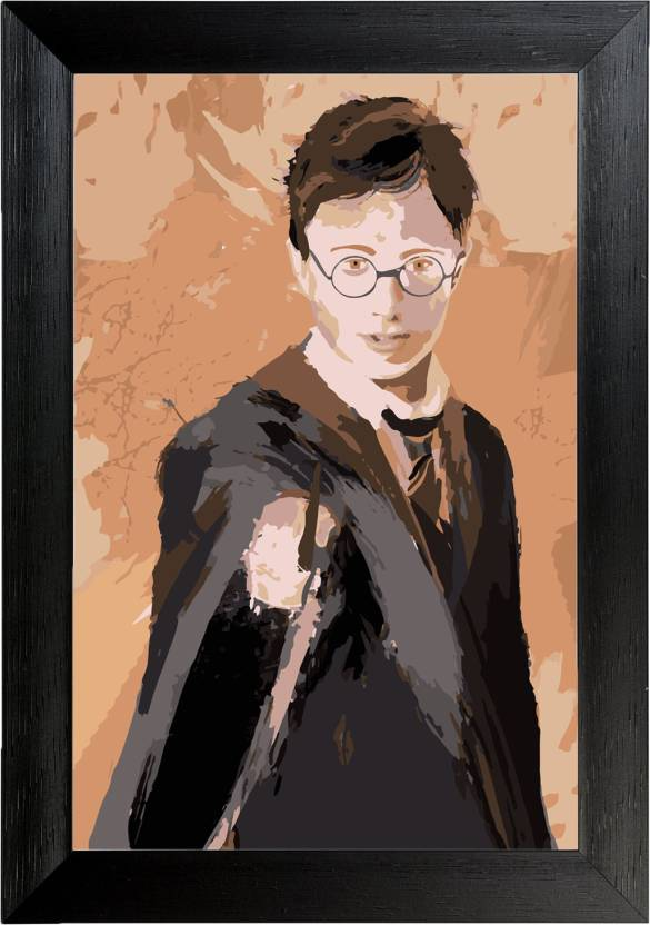Harry Potter Wall Frame Poster Movies ,(12X18) BY Vprint Paper Print ...