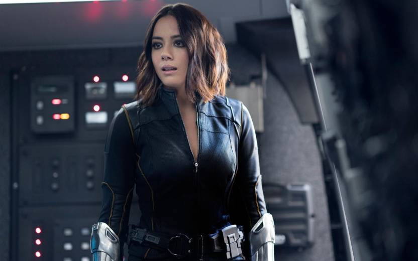 ec99e395baf15 Chloe Bennet Daisy Johnson Agents of Shield ON FINE ART PAPER HD ...