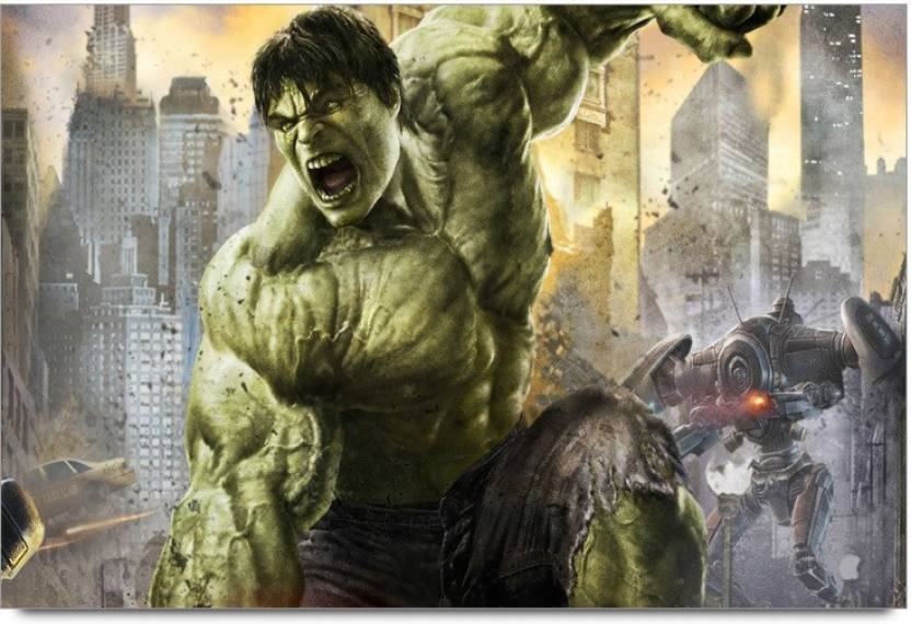 Amy Incredible Hulk Punching 3d Poster Nature Nature Posters In
