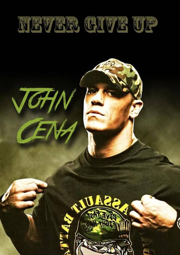 John Cena Poster Paper Print
