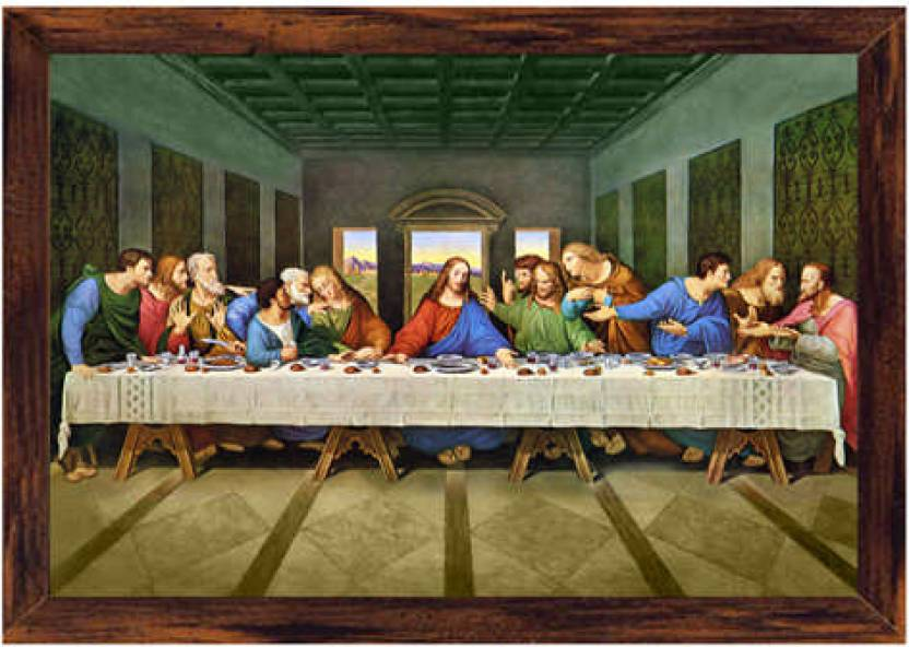 Last Supper Canvas Art Religious Posters In India Buy Art Film