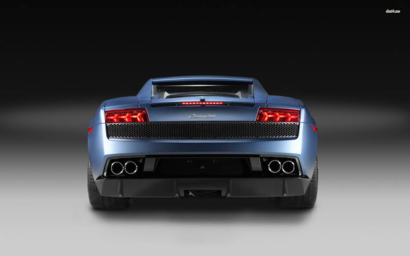Eurekadesigns Lamborghini Gallardo Poster Fine Art Print Vehicles