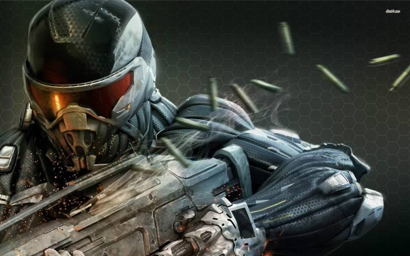 Crysis 3 Athah Fine Quality Poster Paper Print - Gaming posters in