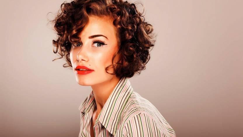 Beautiful Girls Short Cut Hair Styles A3 Hd Poster Art Shi1166