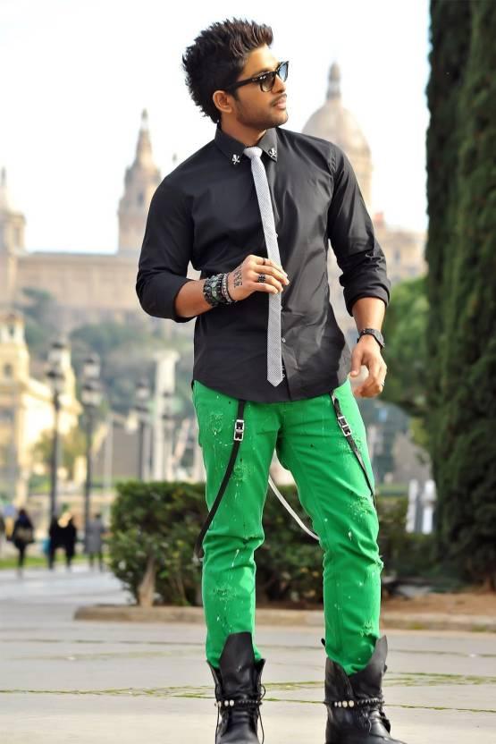allu arjun with long footwear poster paper print personalities