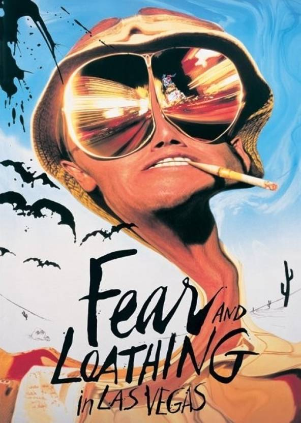 Fear And Loathing In Las Vegas Paper Print Movies Posters