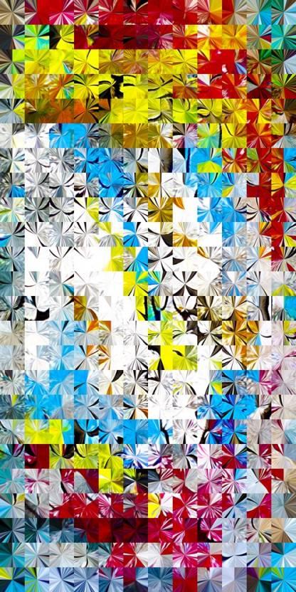 Fusion J108 Canvas Art - Pix Topper Artist Community posters