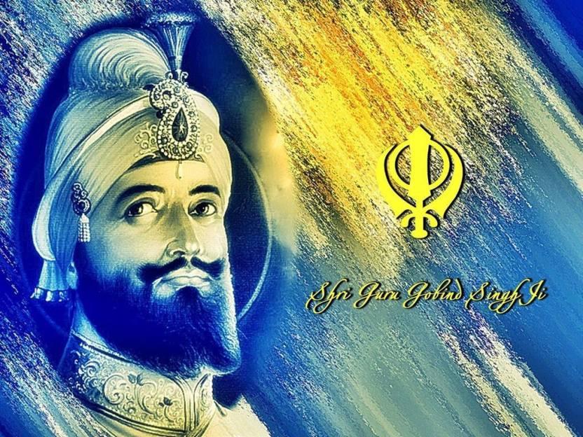 Shri Guru Gobind Singh Ji Poster Paper Print Religious Posters In