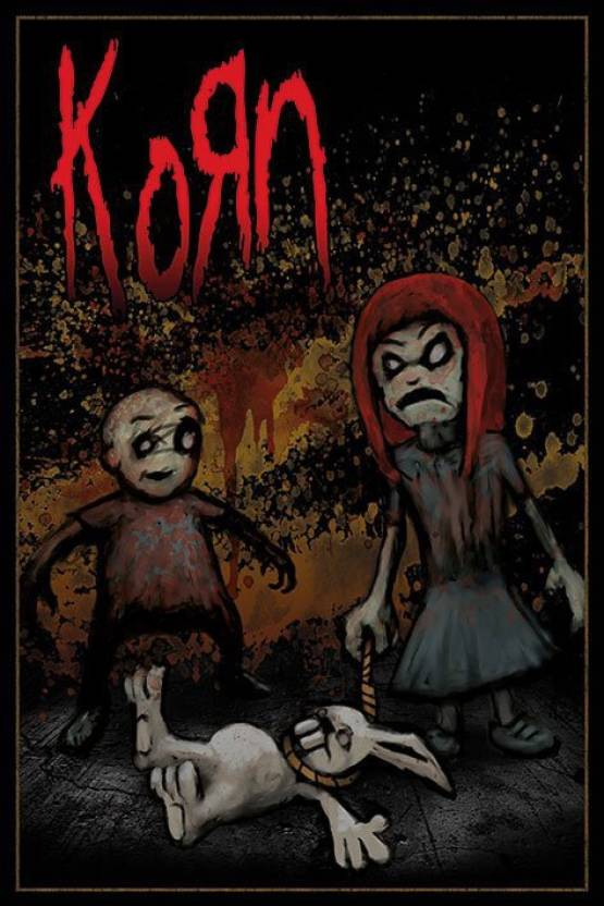 Korn Dead Bunny Paper Print Korn Posters Music Posters