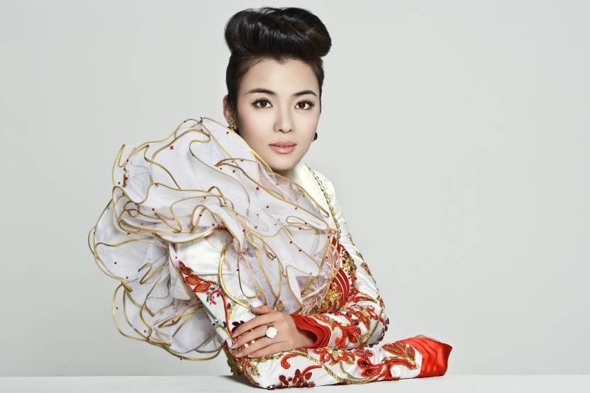 Music Chén Sīsī Singers China Chinese Chen Sisi Fancy Dress Wall