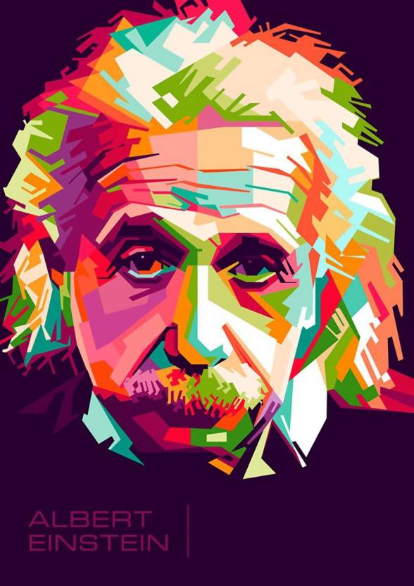 Albert Einstein A3 NON TEARABLE High Quality Printed Poster - Wall ...